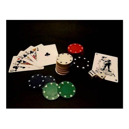 Gambling Tools Postcard