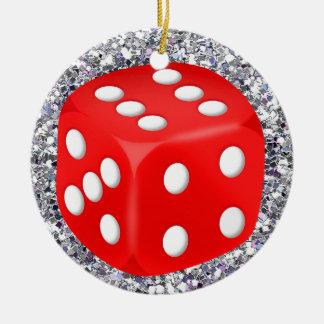 Gambling - Vegas Ceramic Ornament
