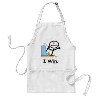 Gambling (win) adult apron