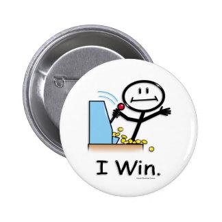 Gambling (win) pinback button