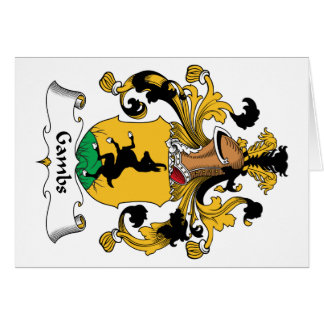 Gambs Family Crest Cards