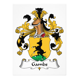 Gambs Family Crest Invitation