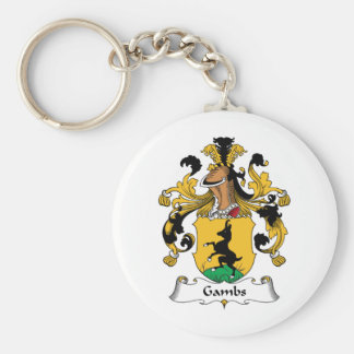 Gambs Family Crest Keychain