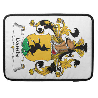 Gambs Family Crest Sleeves For MacBook Pro