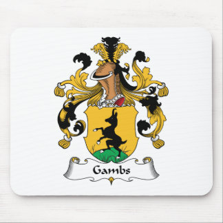 Gambs Family Crest Mouse Pad