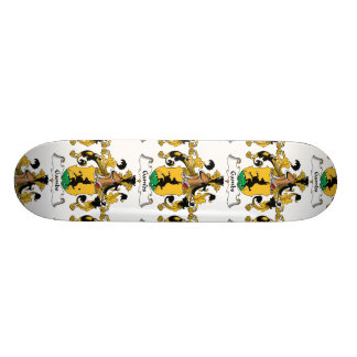 Gambs Family Crest Skate Board Deck