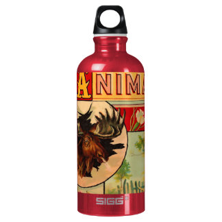 Game Animal Book Cover Aluminum Water Bottle
