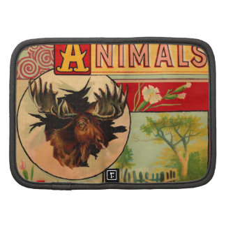 Game Animal Book Cover Folio Planner