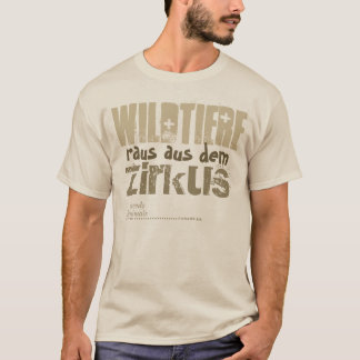 Game animals out from the circus -. - T-Shirt