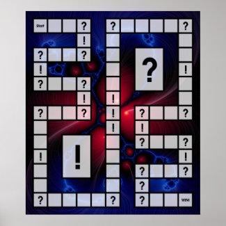 Game Board print