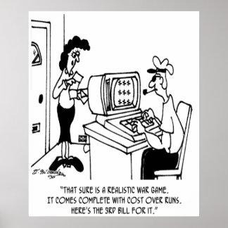 Game Cartoon 3366 Poster