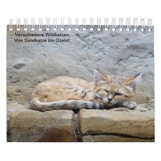 Game cats calendar