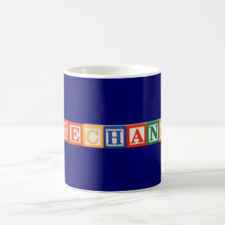 Game Changer Building Block Letters Coffee Mug