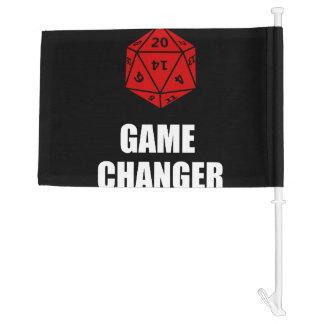 Game Changer Car Flag