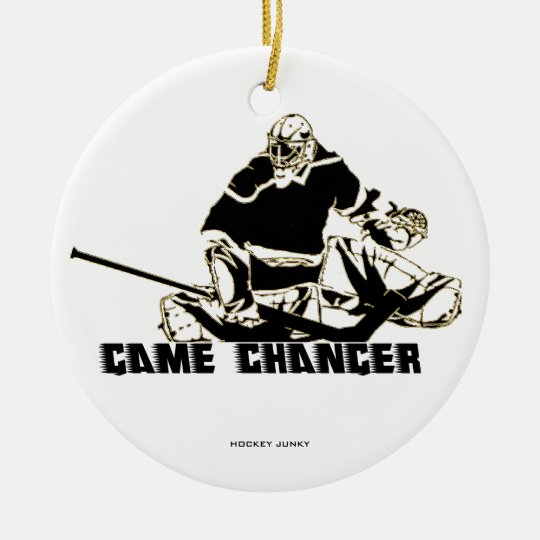 GAME CHANGER CERAMIC ORNAMENT