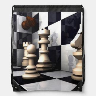 Game Chess Hobby Drawstring Bag