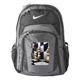Game Chess Hobby Nike Backpack
