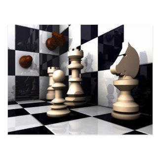 Game Chess Hobby Postcard
