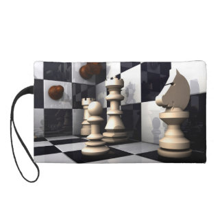 Game Chess Hobby Wristlet