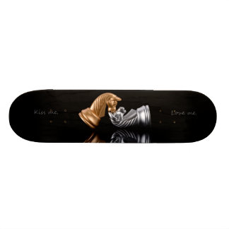 Game Chess Play Skateboard Deck