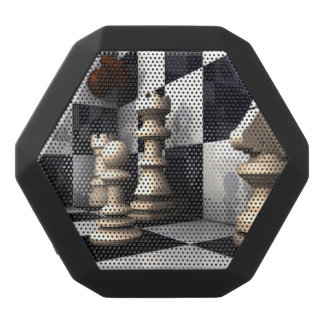 Game Chess Style Black Bluetooth Speaker