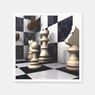 Game Chess Style Napkin