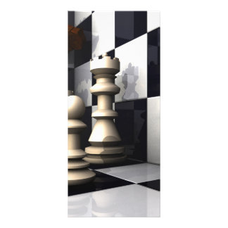 Game Chess Style Rack Card