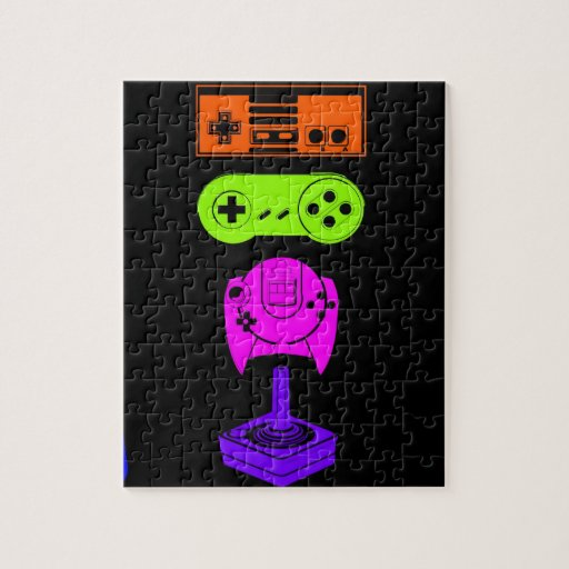 Game console Controllers Jigsaw Puzzles
