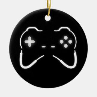 Game Controller Ceramic Ornament