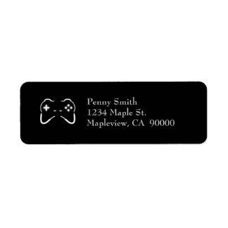 Game Controller Return Address Labels