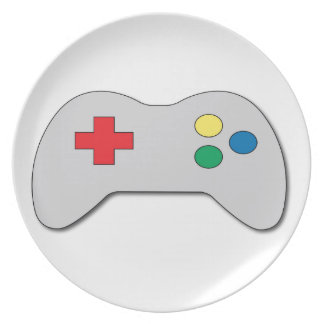 Game Controller Dinner Plate