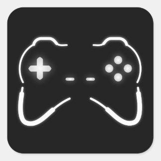 Game Controller Square Sticker