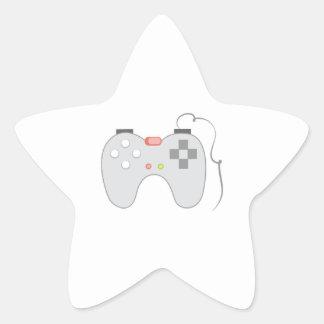 Game Controller Star Sticker