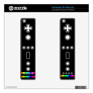 game controllers nintendo wii remote decal