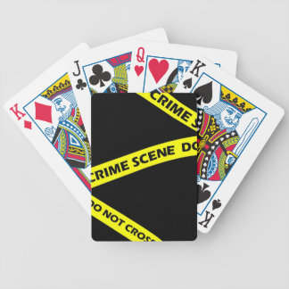 Game CSI Crime Scene Tape Whodunnit Playing Cards