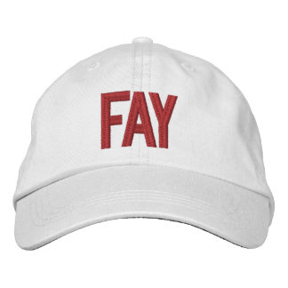 Game Day Ball Cap, Fayetteville Embroidered Baseball Hat