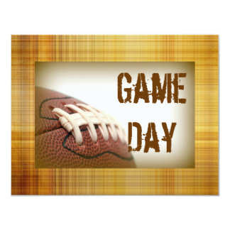 Game Day Football Invites