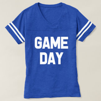 Game Day funny women's football shirt