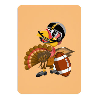 Game Day Turkey Card
