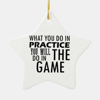 game designs ceramic ornament