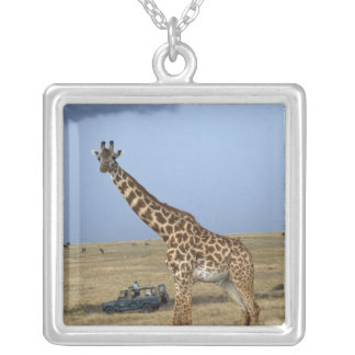 Game drive safari watching Masai Giraffe Jewelry