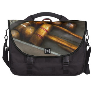 Game - Everyone loves to play Croquet Laptop Commuter Bag