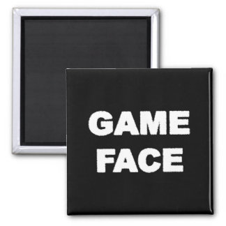 game face 2 inch square magnet