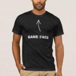 Game Face - Black T-Shirt