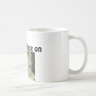 Game face on/ face graphic Coffee Mug