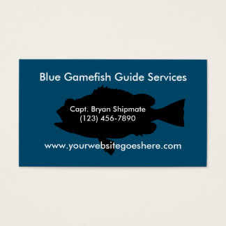 Game Fish Guide Services Business Card