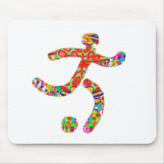 Game FootBall Icon Symbol Mouse Pads