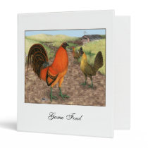 Game Fowl on the Farm Binder