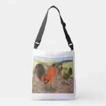 Game Fowl on the Farm Crossbody Bag