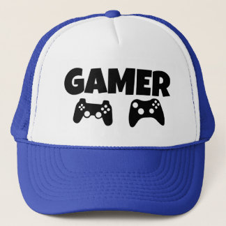 Game funny gamers trucker hat